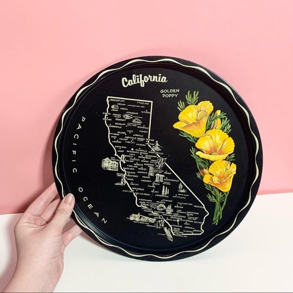 Vintage California tray